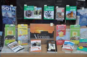 Vitrine Librairie Vernon