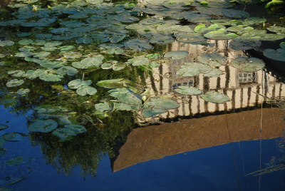Reflet du vieux moulin à Vernon