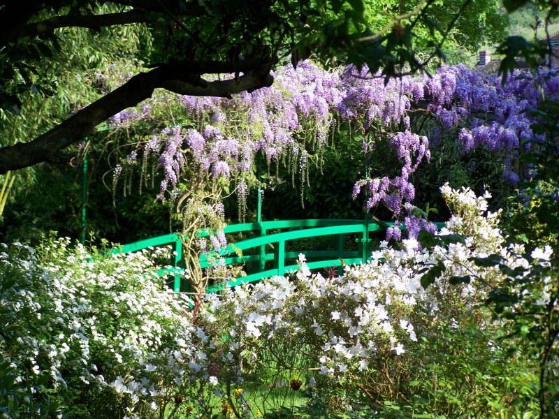 Le pont japonais de Monet à Giverny