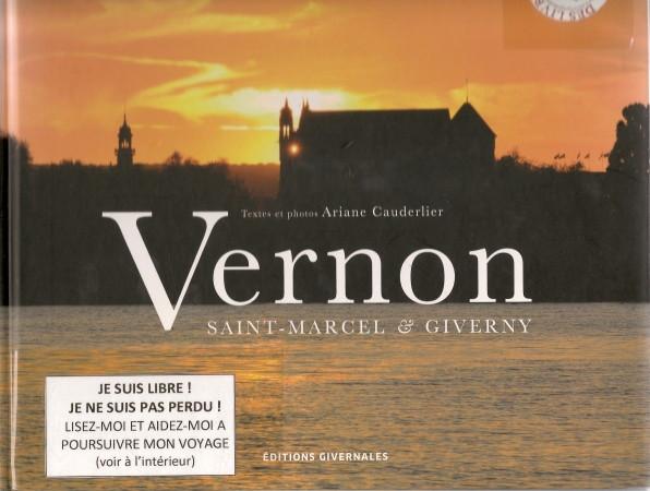 L'exemplaire de Vernon qui participe au Lâcher de livres